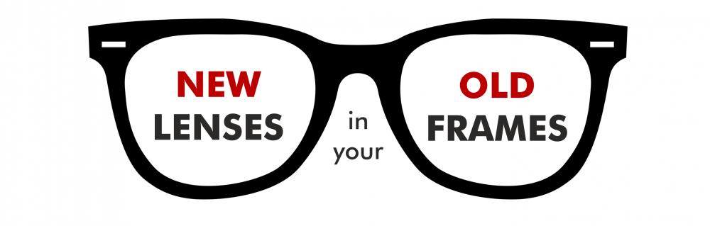 Online prescription glasses - Reglazing